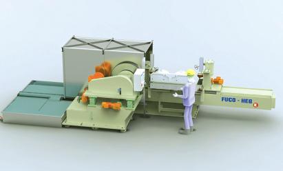 Automatische Schleifmaschine für Doppel-Waschtisch