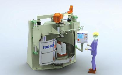 Semiautomatische Schleifmaschine