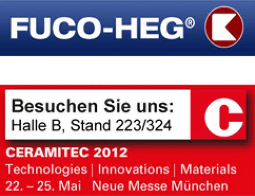 FUCO-HEG mit Neuerungen auf der Ceramitec 2012